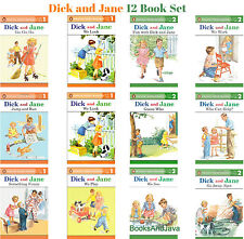 Complete Dick and Jane Readers Level 1 & 2 Collection Set
