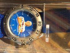 Meister Propper Sport Armband Uhr Blau Neu OVP Sammler Neue Batterie Ring