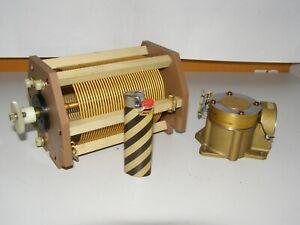 HF Rollspule aus kommerziellen Kurzwellen Sender    56 µH