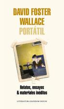 DAVID FOSTER WALLACE PORTáTIL. NUEVO. Nacional URGENTE/Internac. económico. LITE