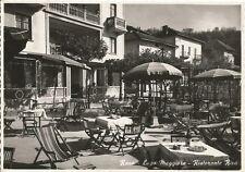 160553 VARESE LEGGIUNO - Fraz. RENO - RISTORANTE RIVA Cartolina FOTOG. viag 1954