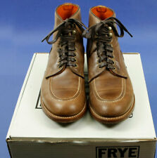FRYE LACE Tan Boots Mens Leather Size 8.5M