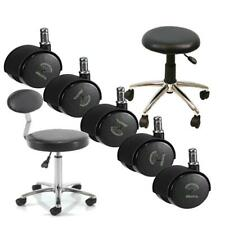 More details for cutting stool castor wheels (hairdressing supplies)  set of replacement haird...