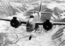 WWII Photo RAF Baltimore Bomber Italy 1943 WW2 B&W World War Two / 5093