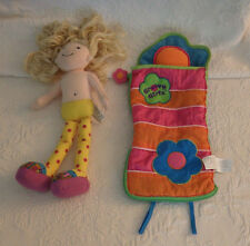 "Sesilia Groovy Girls Doll & Sleeping Bag Toy 15"""