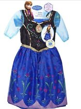Disney Frozen Anna Light-up Musical Singing Dress Costume Sz 7-8.