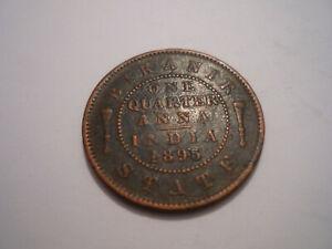 Indien, India, Bikanir State, One Quarter Anna, 1895, Victoria