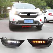 2017 2018 2019 For Honda CR-V CRV LED Fog light DRL Daytime Running Light 2pcs