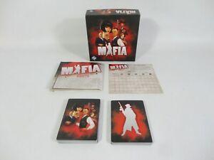 Mafia Vendetta Card Game - Fantasy Flight RARE Crime Gangster 2015 COMPLETE