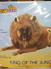 Cute King Of The Jungle large Dog Animals Nature Halloween Pet Costume
