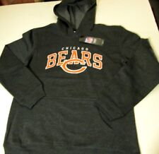 CHICAGO BEARS PULLOVER HOODED SWEATSHIRT YOUTH SIZE LARGE (14-16) - GRAY - NWT