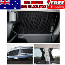 2X Car Side Window Curtains Retractable Sun Shades UV Protection Universal AU