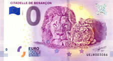 25 BESANCON Citadelle 2, Félins, 2018, Billet 0 € Souvenir