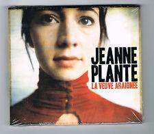 JEANNE PLANTE - LA VEUVE ARAIGNÉE - CD 12 TITRES - 2012 - NEUF NEW NEU