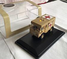 OO GAUGE 1:76 76 Land Rover Ambulance Gulf War 1991 With Flashing Lights Lot 4
