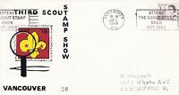 SC144) Canada Third Stamp Show Vancouver 1968, cachet cover,