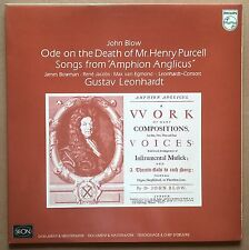 LP John Blow - Ode On The Death Of Henry Purcell / Amphion Anglicus Leonhardt Nm
