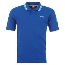 Slazenger Camiseta Polo Punta Camisa Polo Camisa GOLF s-4xl Hombres Ocio NUEVO