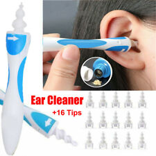 2/17pcs Ear Wax Removal Tool Ear Cleaner Q-Grips Ear Wax Remover with 1/16Tips