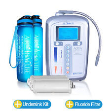 Aqua Ionizer Deluxe 5.0™ Premium Bundle!!! Alkaline Ionizer Machine Water Filter