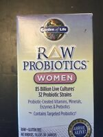 Garden Of Life Raw Probiotics Women 90 Capsules 85 Billion Live Cultures Best