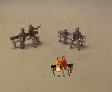 P&D Marsh OO Gauge PW212 Benches & seated people castings require painting