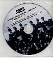 (CI168) Vinny Peculiar, My Generation (I Said Goodbye) - 2011 DJ CD