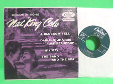 CAPITOL 45 RPM EP EAP NAT KING COLE MOODS IN SONG VINYL HI-FI RECORD