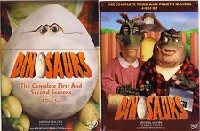 DINOSAURS COMPLETE SEASONS 1 2 3 4, JIM HENSON 8 DISC SET DVD REGION 1