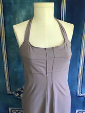 Athleta SIZZLE Orchid Bra Top Halter Dress SZ 12 Fitted Athletic Yoga Beach Wick