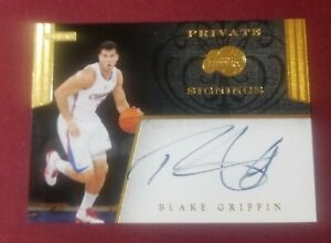 2011 Panini Private Signings BLAKE GRIFFIN Autograph Los Angeles Clippers #PS-BG