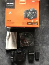 Sony Alpha SLT-A58 Digital Camera Body {20.1 M/P}