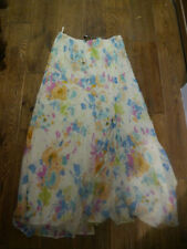 Silk Party Hippy, Boho Floral Skirts for Women