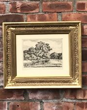 Original Birger Sandzen Lithograph. Early Summer. 1923. Signed. Framed