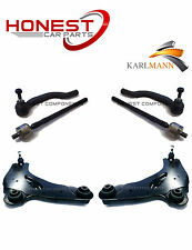 For VAUXHALL VIVARO 01-06 FRONT LOWER SUSPENSION ARMS & TIE TRACK RODS ENDS NEW