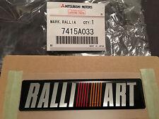 JDM OEM Universal Mitsubishi Ralliart Decal Badge Genuine Logo Sticker Lancer