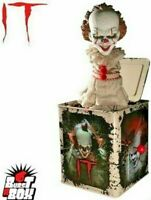 Pennywise It Evil Clown Movie Burst A Box Jack in the Box Scary Prank Toy Figure