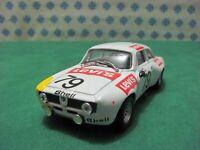 ALFA ROMEO Giulia GTA junior 1300 coupè Bertone 24h SPA 1971 -1/43 PK RAC 015