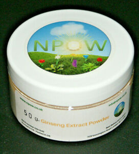 Ginseng Extract Powder 100% Pure by NPOW™ 50g CAS 50647-08-0