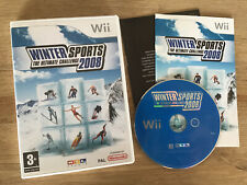 Winter Sports 2008 Nintendo Wii PAL Skiing Snowboarding Game *FreeUKPost*