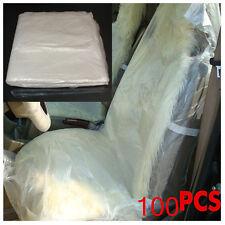 Universal 100PCS Car Disposable Auto Plastic Seat Films Covers For repair
