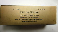 NEW (NOS) Vintage tubes - One SYLVANIA brand JAN CHS 1J6G in original box