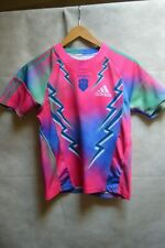 MAILLOT  RUGBY ADIDAS STADE FRANCAIS PARIS  TAILLE 8 ANS JERSEY/MAGLIA