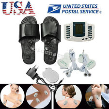 US-Digital Stimulator Massager Full Body Relax Pulse Acupuncture Therapy Slipper