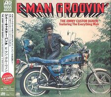 The Jimmy Castor Bunch/Everything Man E-Man Groovin' CD NEW SEALED Obi Strip