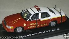 First Response 1/43 Texas Railroad Police Ford Crown Victoria  LCCA PREMIER