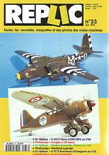REPLIC N°33 A-20 G HAVOC D'AMT/ERTL/DOUGLAS A-20/WESTLAND/P-47 D THUNDERBOLT