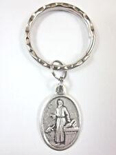 StLuke the Apostle Medal Italy Key Ring Gift Box & Prayer Card