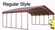 Triple-wide Steel Carport Cover   28 X 21  FREE Del. & Install.  NATION-WIDE!!!