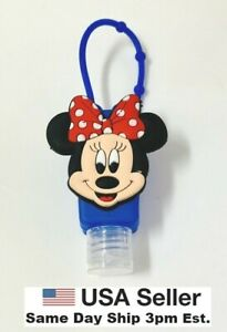 Silicone Bottle Holder Carrying Case for Mini 1oz Hand Sanitation Minnie Mouse